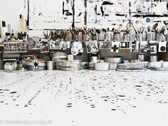 Werkstudio van Tenka Gammelgaard | Wooninspiratie