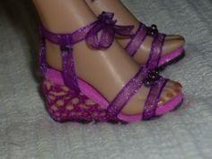 chaussures poupées (tuto gratuit DIY)