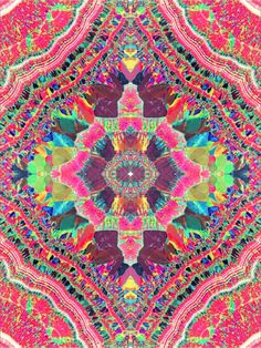 ☮ American Hippie Psychedelic Art ~ Trippy Pattern Design