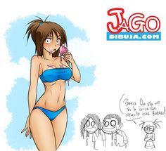 erika_at_the_beach_by_jagodibuja-d86dgx1.jpg (1749×1599)