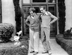 Sergei Eisenstein and Walt Disney
