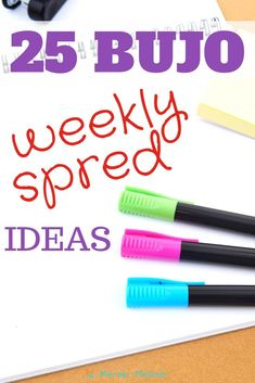 25 bullet journal weekly spread set up ideas for you to use today! #weeklysetup weekly layout bullet journal, weekly layout bullet journal one page, weekly layout bullet journal simple, weekly layout printable. #weekly