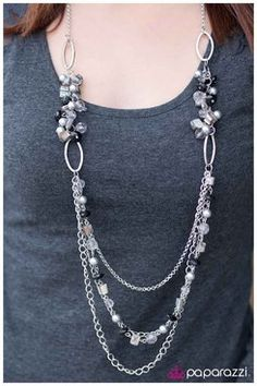 Another great necklace, Gray Area, is just $5!  www.facebook.com/fashionfor5withnicole Paparazzi Accessories consultant # 30885