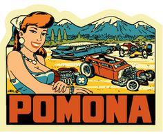 Pomona, CA., grandparents lived here years ago.