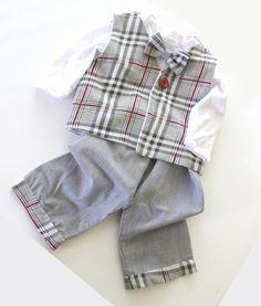 Taufbekleidung - Taufanzug,Kinderanzug,Babyanzug,Taufbekleidung - ein Designerstück von oh-que-bonito bei DaWanda