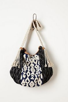 I am in love with this braided hobo!