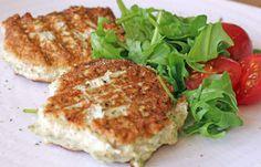 Chicken Zucchini Burgers- need chicken, zucchini, ginger, spring onions, cilantro, coconut aminos, 1 egg, flaxseed, coconut oil