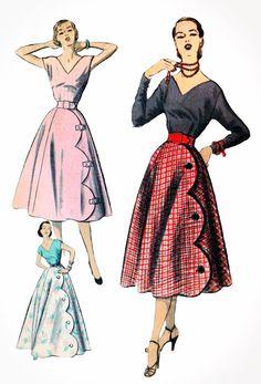 Vintage Pattern Spotlight: Advance 5691 – Noir & Nettles