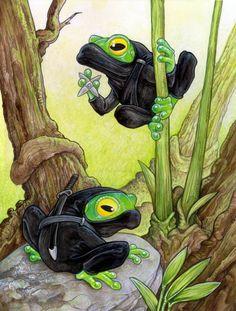 Ninja Tree Frog