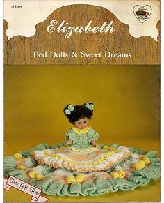 Elizabeth Bed Dolls & Sweet Dreams Dumplin Designs Crochet Pattern Book BD 511.
