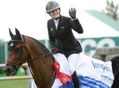 La amazona canadiense Tiffany Foster consiguió por segundo año seguido la victoria en el $35,000 Imperial Winning Round 1.50m, siendo acompañada nuevamente por el caballo castrado de 11 años Brighton (Contendro II x Quick Star).