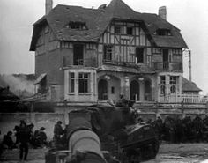 Normandy 1944   Then and Now