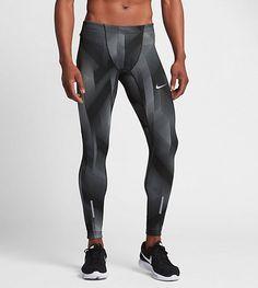 Löpartightsen Nike Power Tech för män har svettavvisande kompressionstyg så att du håller dig torr och det känns bekvämt under löpningen. PRODUKTFÖRDELAR Nike Power-material ger effektiv kompression och bra stöd Dri-FIT-teknik ger en torr och behaglig känsla Resårmidja med dragsko ger personlig passform Platta sömmar som rör sig mjukt mot huden Reflekterande detaljer som syns bättre när det är mörkt Muddar med dragkedja gör byxorna enkla att ta på och av