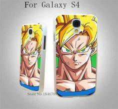 Dragon Ball Z Son Goku White Hard Case Cover for Samsung Galaxy S3 S3 Mini S4 s4 Mini S5 S5 Mini S6 s6 Edge
