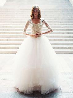 Marry Christmas! ~ Winter Wedding Dresses » Inspiring Pretty  Sareh Nouri