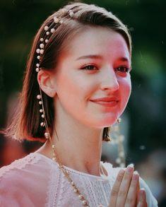 Angelina Danilova, Galaxy Wallpaper, Pearl Earrings, Pearls, Jewelry, Fashion, Portrait, Moda, Pearl Studs