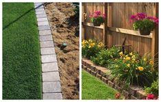 6 Εύκολοι τρόποι για να διαμορφώσετε Παρτέρια Landscaping, Sidewalk, Outdoor Structures, Side Walkway, Yard Landscaping, Walkway, Landscape Architecture, Garden Design, Walkways