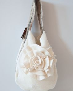 Cute bag from sweater