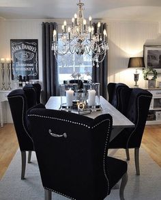 Be inspired by this decor designs for the dining room.