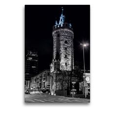 Frankfurt, Monochrom, Empire State Building, Travel, Round Tower, County Seat, City Government, Water Art, Viajes