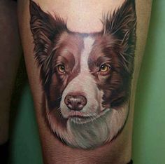 35 Dog Tattoos That Look Too Good To Be Real