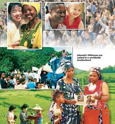 Many people are learning that there is a reason for hope and joy. God has plans to make this earth into a global paradise under the Kingdom of his Son. People are studying the Bible in 239 lands with nearly 8 million JW's. Jehovah S Witnesses, Jehovah Witness, Matthew 24 14, Answer To Life, Paradise On Earth, Do What Is Right, Bible Truth, Set You Free, Great Names