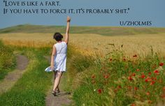 Cool love is like a fart