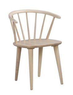 <div>Denna eleganta <b>stol </b>från ROWICO övertygar med sin stiliga design i vitt. Den har ett mått på B/H/D ca. 54 x 76 x 52 cm och är tillverkad av <b>massivt trä</b>. Ytan är lackerad och kan enkelt rengöras med en fuktig trasa. Praktisk och klassisk design för ditt hem.</div><div><br></div><div>Finns ej utställd, men kan beställas på varuhuset.</div>