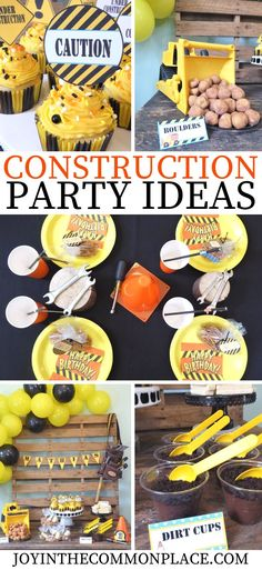 Are you hosting a boys' birthday party soon? Get inspire with this cute construction themed birthday party! Discover fun construction themed decorations and easy party treat ideas! #ad #partyideas #construction #constructionparty #constructionbirthdayparty #birthdaypartydecor #birthdayparty #partyideasforkids #partydecorations #constructionworker #building #build #boysparty #kidspartyideas #bulldozer #digger #partyfood #partysnacks #cupcakes #constructiontheme #backdropideas #partybackdrop