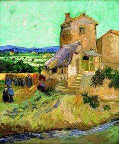 La Maison de la Crau (also known as 'The Old Mill'), Vincent van Gogh, 1888 https://www.passionforpaintings.com/en/art-gallery/vincent-van-gogh-painter/la-maison-de-la-crau-also-known-as-the-old-mill-vincent-van-gogh-1888-oil-painting-reproduction