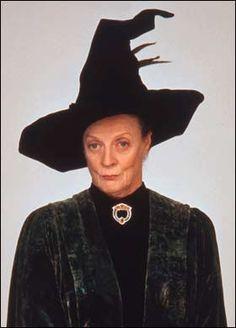 Dame Maggie Smith as Minerva McGonagall. Magnificence.