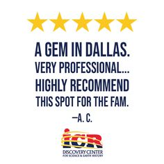 Great review about our Dallas creation museum and planetarium! Thanks, A. C.! Institute For Creation Research, Creation Museum, Veterans Discounts, The Fam, Get Tickets, Plan Your Trip, Trip Planning, Discovery, Need To Know