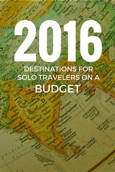 Destinations for Solo Travelers on a Budget: The 2016 Shortlist http://solotravelerblog.com/destinations-for-solo-travelers-on-a-budget/