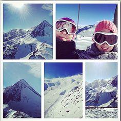 La montagne ça vous gagne !  @loeiffel #montagne #neige #pyrenees #ski #skiing #cauterets #hiver #pistes #sportdhiver #happy #soeurs #sisters #snow by sofy_3131