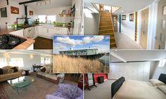 Former cargo ship transformed into lavish £450,000 three-bedroom house