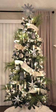 Christmas Tree, with long pine needle Pine Christmas Tree, Colorful Christmas Tree, Christmas Holidays, Christmas Decorations, Holiday Decor, Pine Needles, Home Decor, Christmas Vacation, Decoration Home