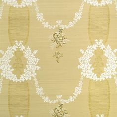 guirlande - champagne fabric | Designers Guild