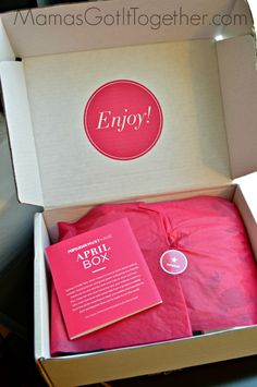 POPSUGAR Must Have Box April 2014- a monthly box of beauty products, accessories, healthy snacks, and more! LOVE this subscription box. (Includes a COUPON for you!!)