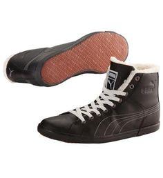 Benecio Fur High Tops, black