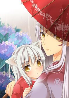 Sesshomaru and little Inuyasha ^.^ ♡