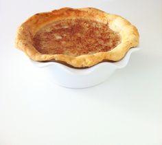 Quick, easy vegan recipe for Pennsylvania Dutch milk pie. Also known as milk flabby pie, milk flitche, milk tarts, sugar pie, or poor man's pie!