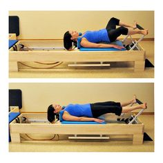 View this complete beginner Pilates reformer workout in photos, with exercises accompanied by notes and tips by instructors on proper technique.: Bottom Lift on the Pilates Reformer Pilates Training, Pilates Workout, Full Body Yoga Workout, Cardio Barre, Pilates Reformer Exercises, Pop Pilates, Pilates Yoga, Pilates Routines, Pilates Fitness