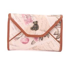 Color 			 				Apricot,Beige 		 		 			 				.Material 			 				PU Leather  		 		 			 				Length 			 				14cm(5.51'') 		 		 			 				Height 			 				9.5cm(3.74'') 		 		 			 				Width 			 				2cm(0.78'') 		 		 			 				Interior 			 				1 Zipper Pouch ,1 Pockets, 				1 Credit Card Slots,1 Photo Window 		 	    Package Included: 1 * Wallet