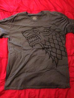 Grey Game of Thrones Stark House Tee