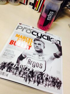 ProCycling magazine with Marcel Kittel on the cover