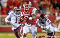 Arkansas vs. Texas A&M - Second Half - Football Photo Gallery - Mobile - ArkansasRazorbacks.com - Official Site of Arkansas Razorback Athletics