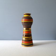 Mid Century Large Bitossi Thailand Vase for by MidModMomStore