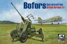 Bofors Anti-aircraft Gun – British Version – AFV Club 35187