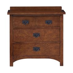 Grove Park Nightstand by Bassett -- sale: $599 -- Mission/Craftsman/Prairie Style Bedroom Furniture