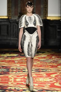 Iris van Herpen Spring Couture 2013 - Slideshow - Runway, Fashion Week, Reviews and Slideshows - WWD.com
